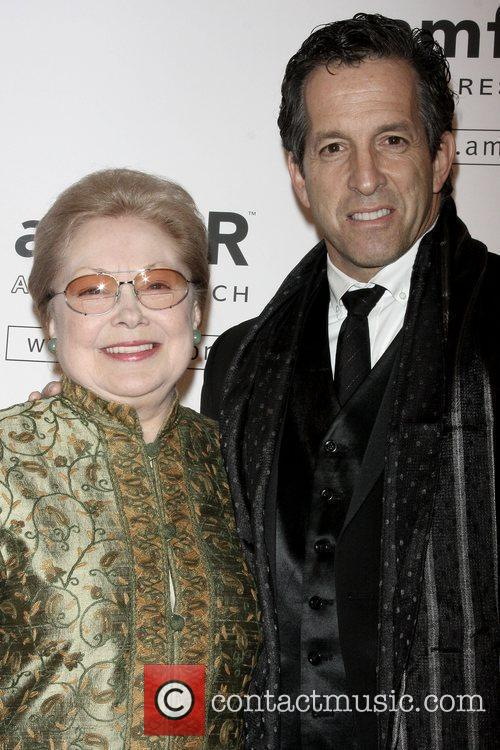 Dr. Mathilde Krim, Ph.d and Kenneth Cole
