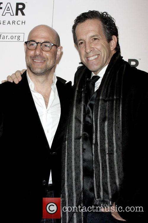 Stanley Tucci and Kenneth Cole amfAR New York...
