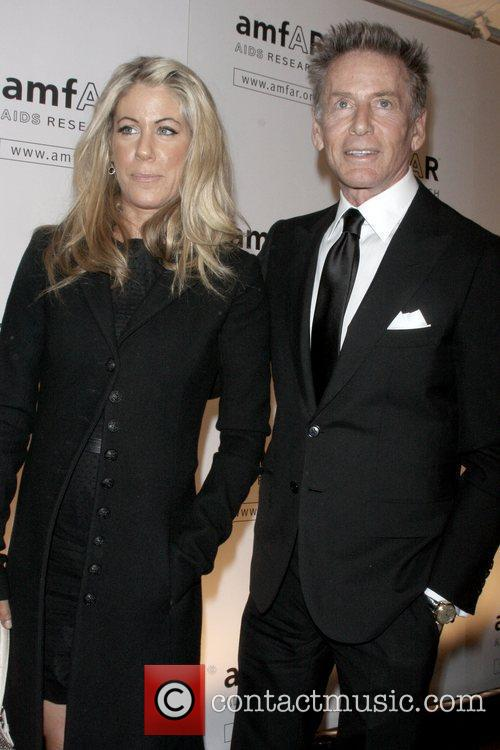 Guest and Calvin Klein amfAR New York Gala...