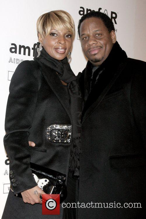 Mary J. Blige and Martin Kendu Isaacs amfAR...