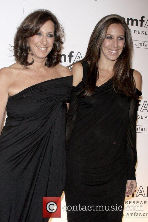 Donna Karan and Gabby Karan amfAR New York...