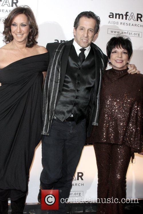 Donna Karan, Kenneth Cole and Liza Minnelli amfAR...