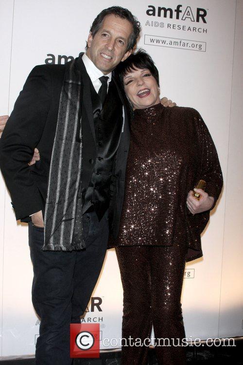 Donna Karan and Liza Minnelli amfAR New York...
