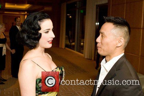 Dita Von Teese, B.D.Wong San Francisco 10th Annual...