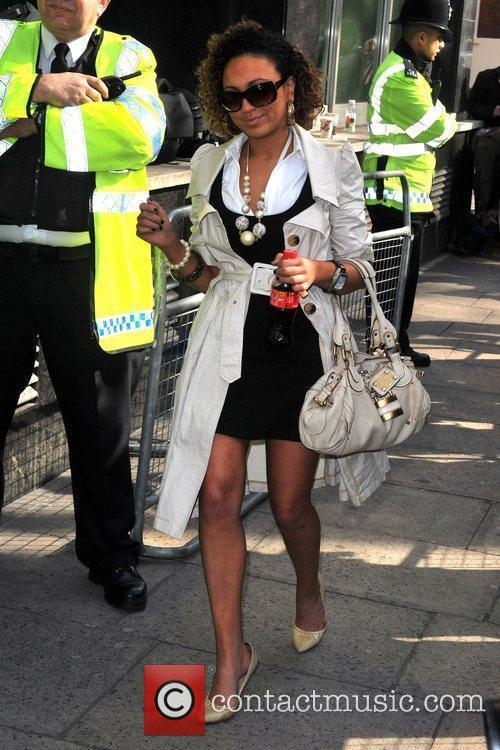 Arrives for her appearance at City of Westminster...