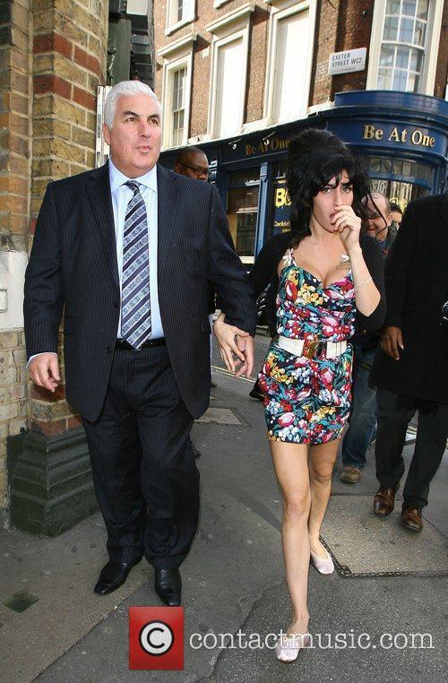 Amy Winehouse and Mitch Winehouse 2