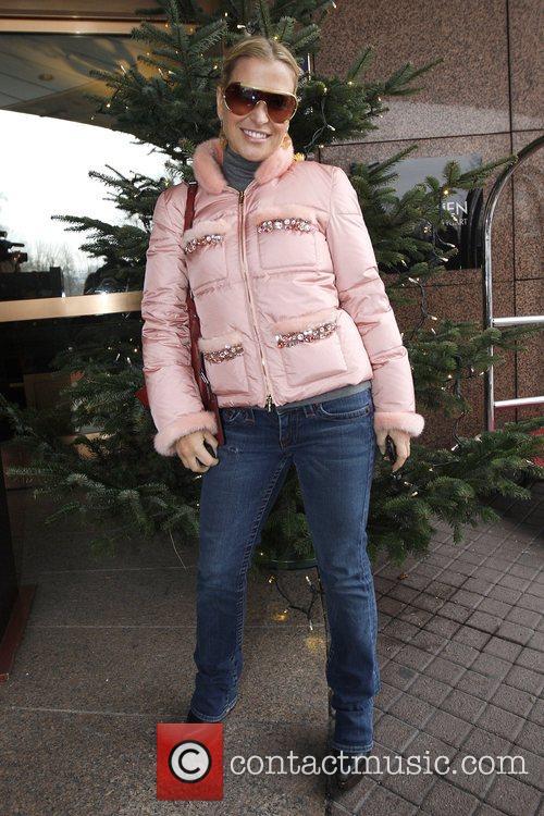 Singer Anastacia outside the Hotzel Le Meridien Stuttgart,...