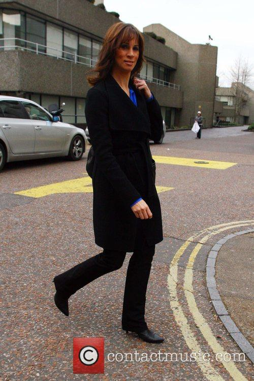 'Loose Women' presenter seen leaving the ITV studios...