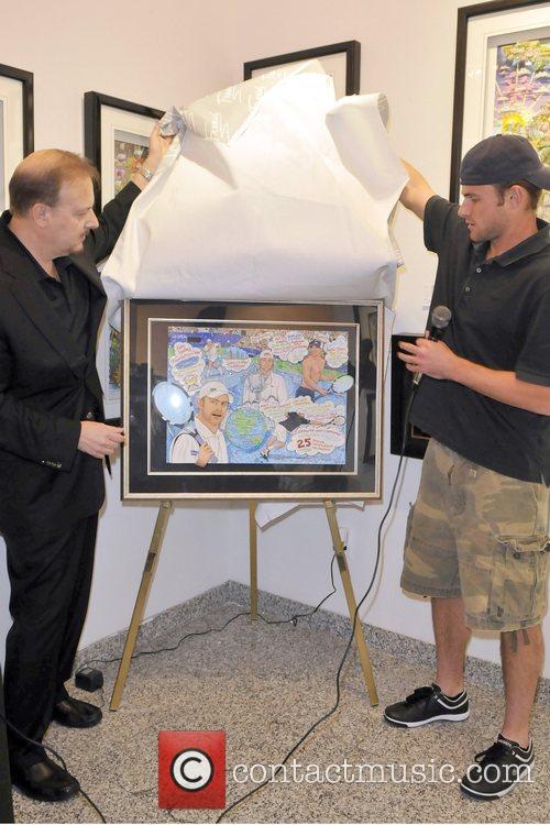 Charles Fazzino and Andy Roddick Artist Charles Fazzino...