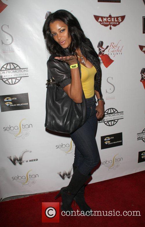 Claudia Jordan Angels of East Africa Celebrity Charity...