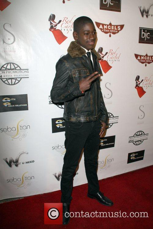 Kuame Boateng Angels of East Africa Celebrity Charity...