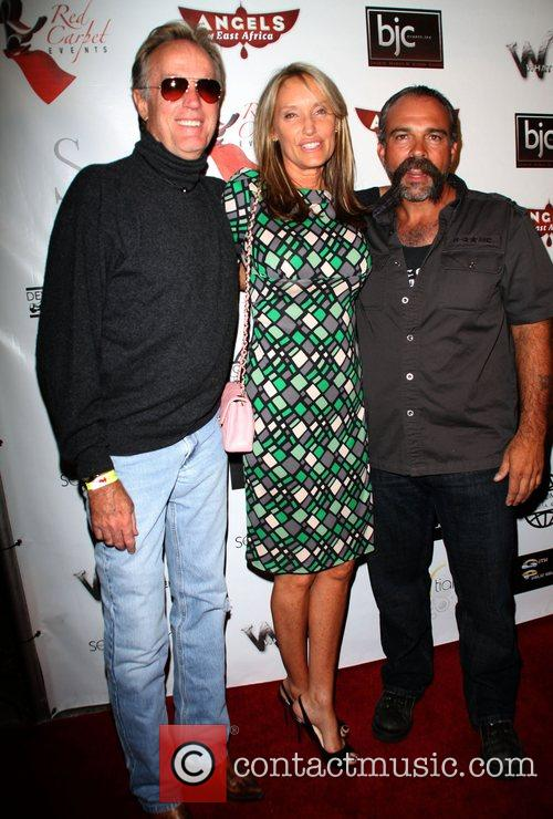 Peter Fonda, Guest and Sam Childers Angels of...