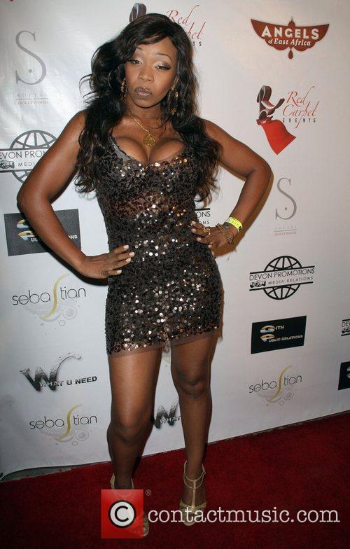 Tiffany Pollard Angels of East Africa Celebrity Charity...