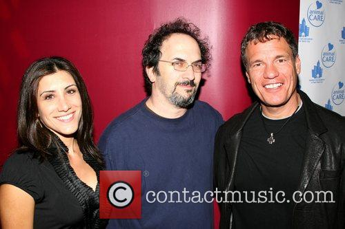Robert Smigel, Danielle Ehlers and Goumba Johnny