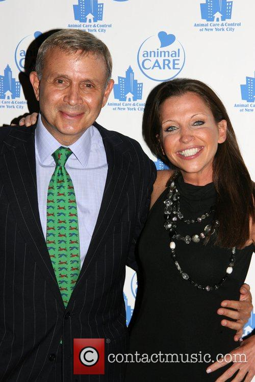 Dr. David Best and Wendy Diamond at the...