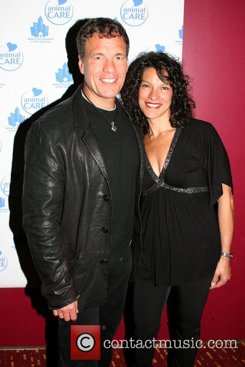 Goumba Johnny and Maria Malito at the Animal...