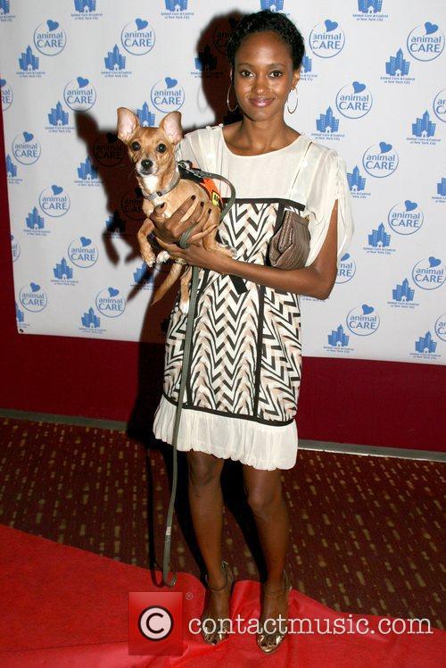 Nicole Fiscella at the Animal Care and Control's...