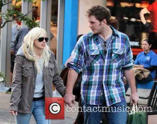 'The House Bunny' star Anna Faris out shopping...