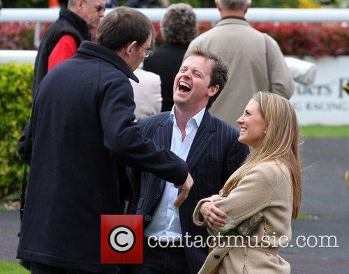 Enjoying a day at Kempton Park Racecourse. Donnelly...