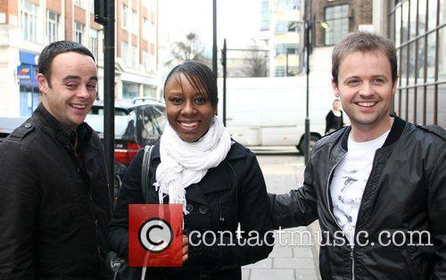 Anthony McPartlin and Declan Donnelly arriving at Radio...
