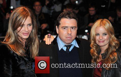 Director Sacha Gervasi and Trinny Woodall The Times...
