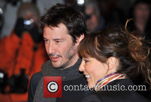 Keanu Reeves and guest The Times BFI London...