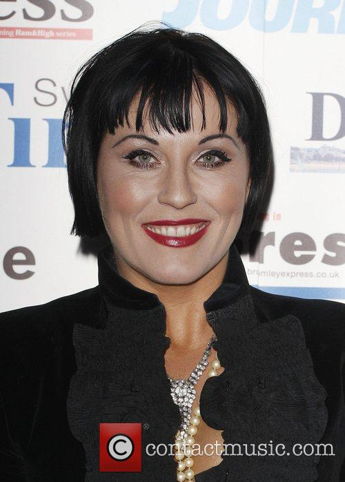 Jessie Wallace The Archant London Press Ball held...