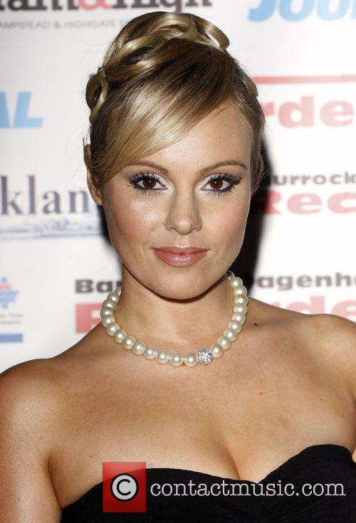 Michelle Dewberry The Archant London Press Ball held...