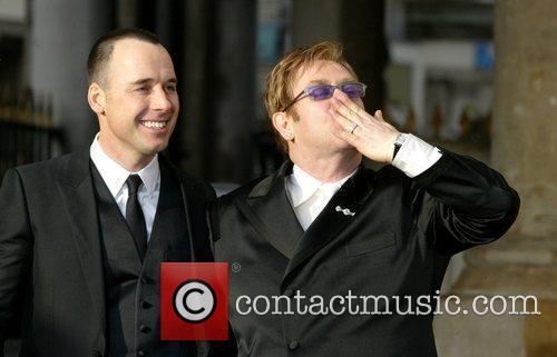 Elton John and David Furnish 2