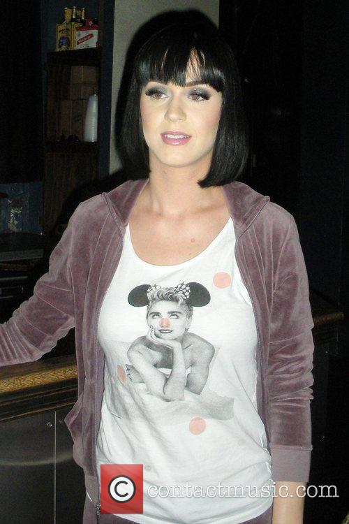 Katy Perry meets fans at 9:30 Club sporting...