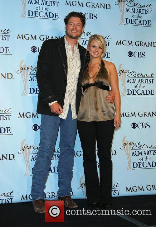 Blake Shelton and Miranda Lambert 'George Strait: Artist...