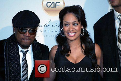 Ne-yo and Alani 'la La' Vazquez 9