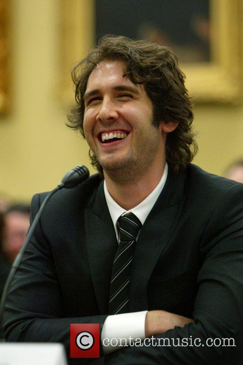 Josh Groban Congressional Arts Caucus breakfast and hearing...