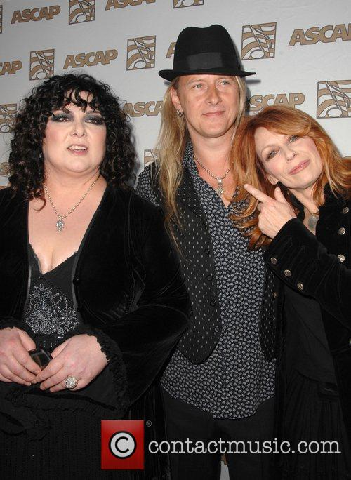 Ann Wilson, Jerry Cantrell and Nancy from the...