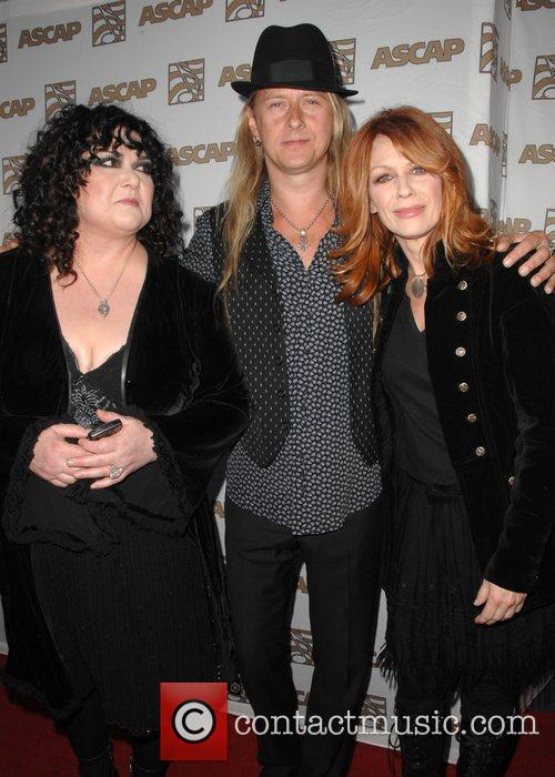 Ann Wilson, Jerry Cantrell and Nancy Wilson from...