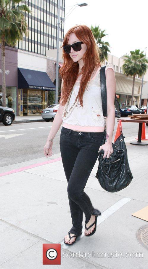 Ashlee Simpson-Wentz shopping in Beverly Hills California, USA