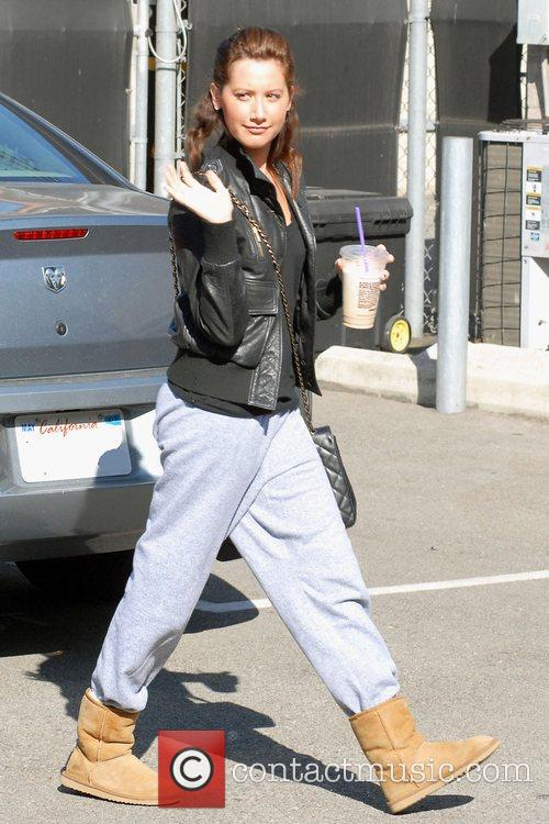 'High School Musical' star Ashley Tisdale, carrying an...
