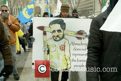 Protesters against President Barack Obama in support of...