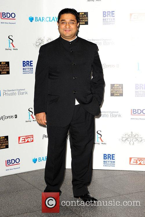 Angad Paul Eastern Eye Asian Business Awards 2008...