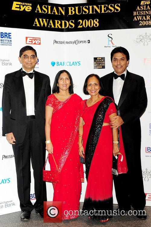 Eastern Eye Asian Business Awards 2008 at Wembley...