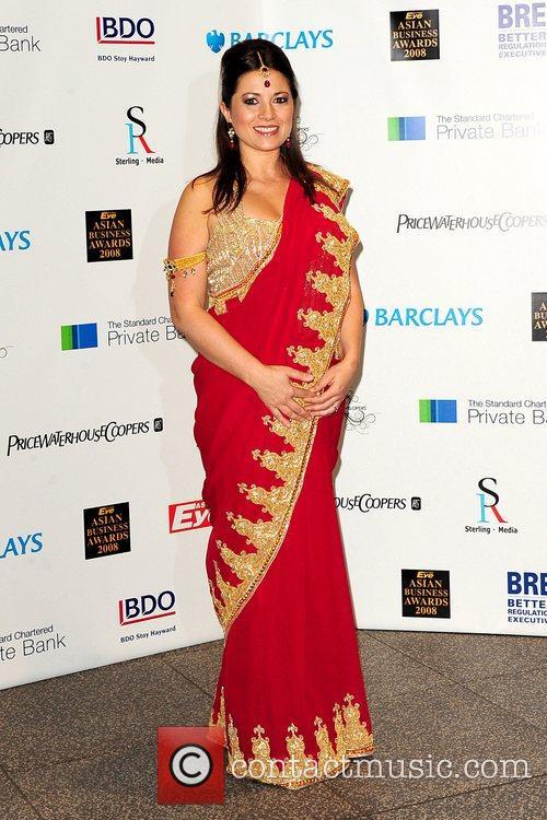 Clare Nasir Eastern Eye Asian Business Awards 2008...