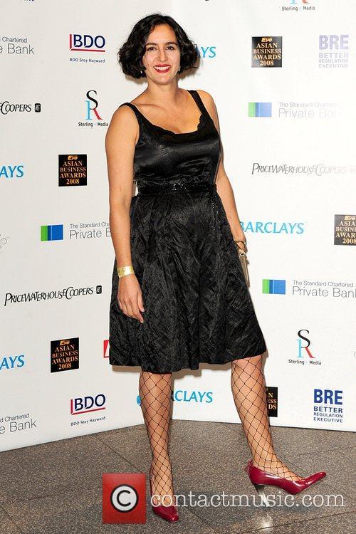 Geetie Singh Eastern Eye Asian Business Awards 2008...