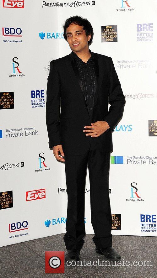 Imran Hakim Eastern Eye Asian Business Awards 2008...