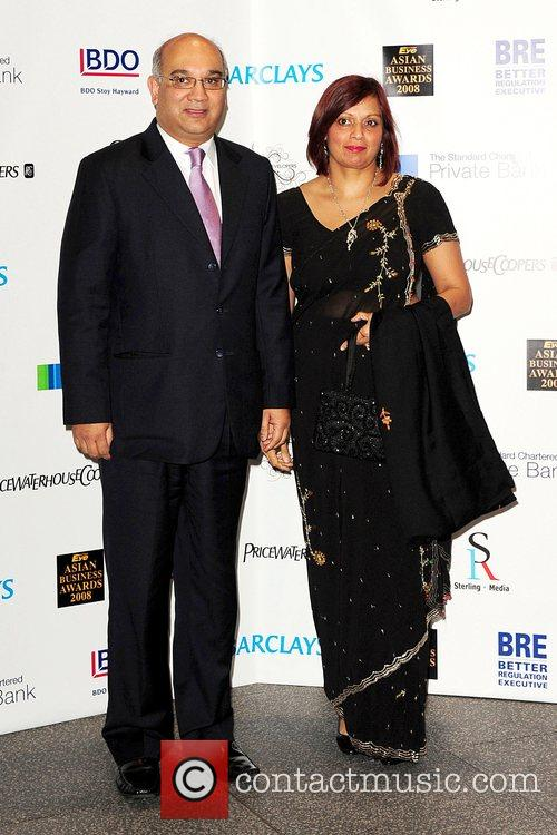 Keith Vaz and Guest Eastern Eye Asian Business...