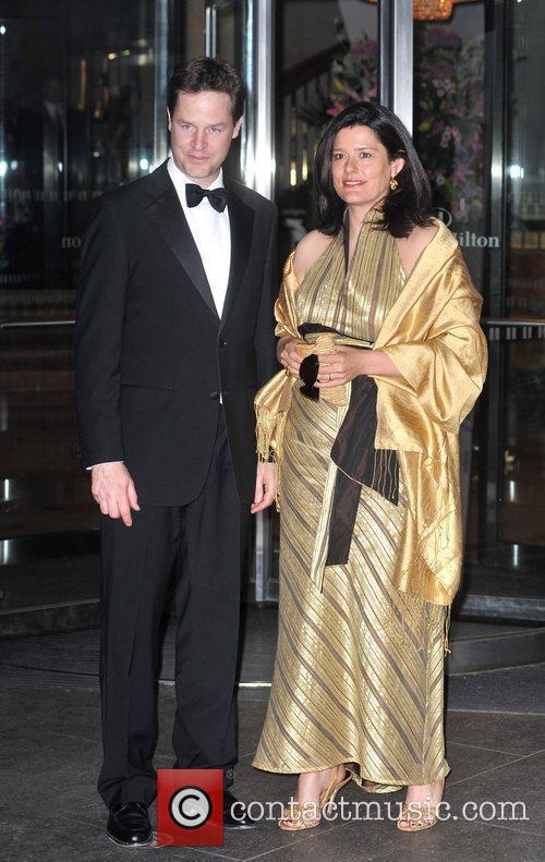 Nick Clegg and guest Asian Women Of Achievement...