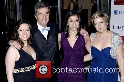Clare Nasir, John Stapleton, Mishal Husain and Penny...