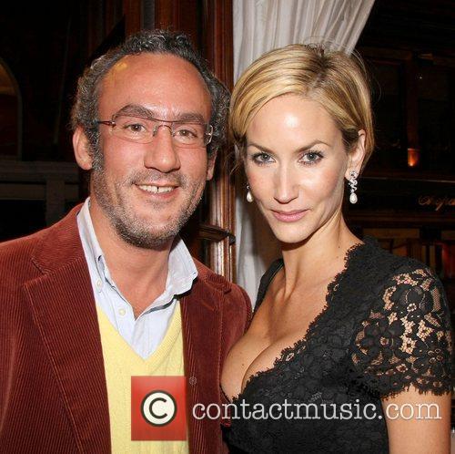 Michael Los and Lisa Butcher at an Asprey...