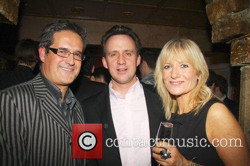 Simon Hinton, Gaby Roslin and her partner Atelier-Mayer.com...