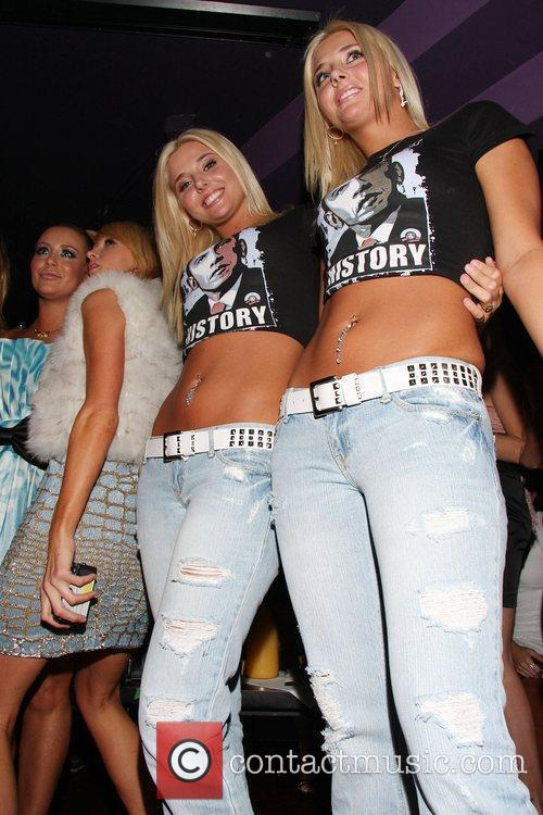Aubrey O'day, Paris Hilton and Playboy 2