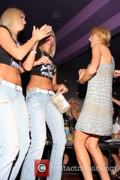 Karissa Shannon, Kristina Shannon and Paris Hilton Aubrey...